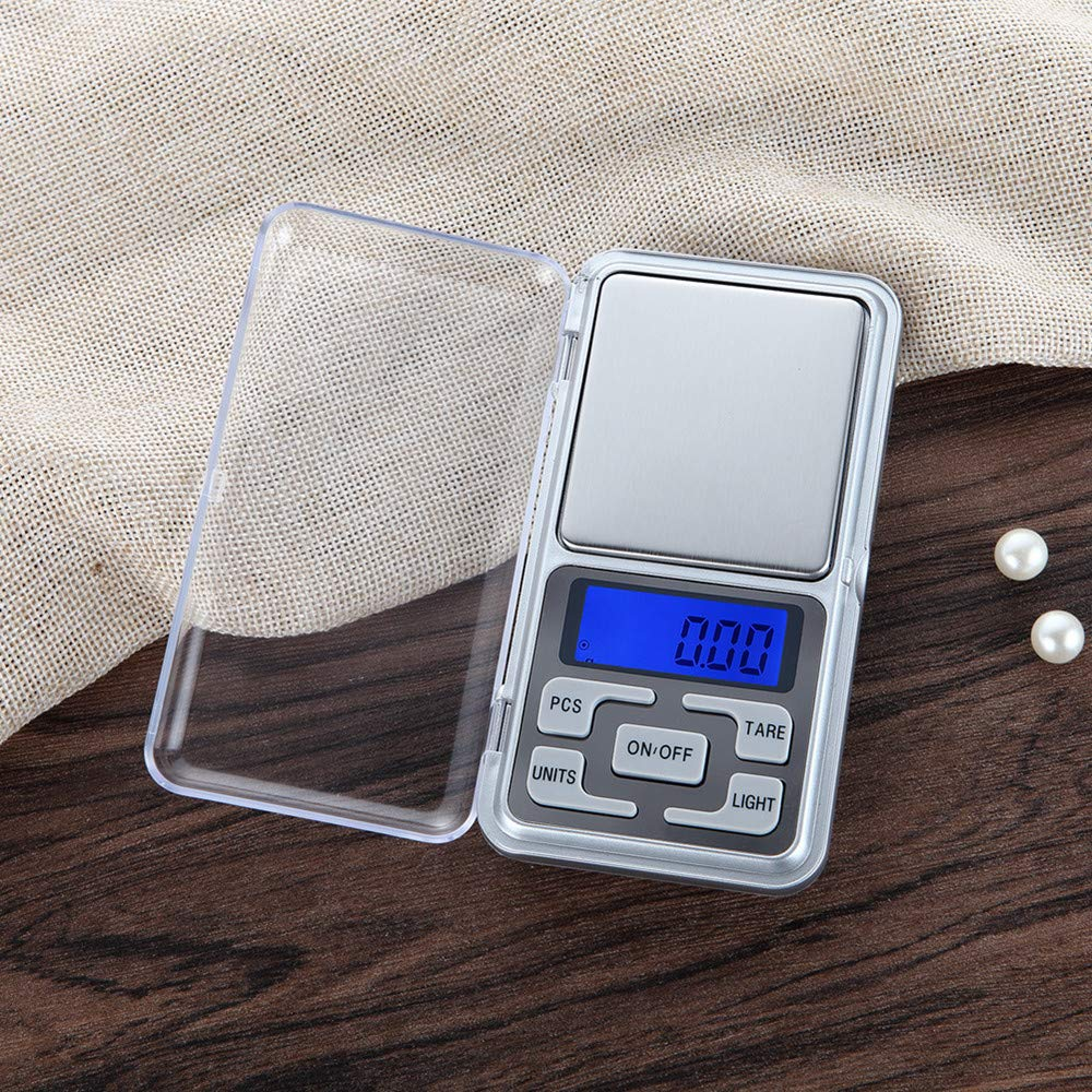 100g X 0.01g Businda Digital Jewelry Scale Multifunction Stainless Steel Gold Diamond Scale Portable LCD Display Pocket Scale
