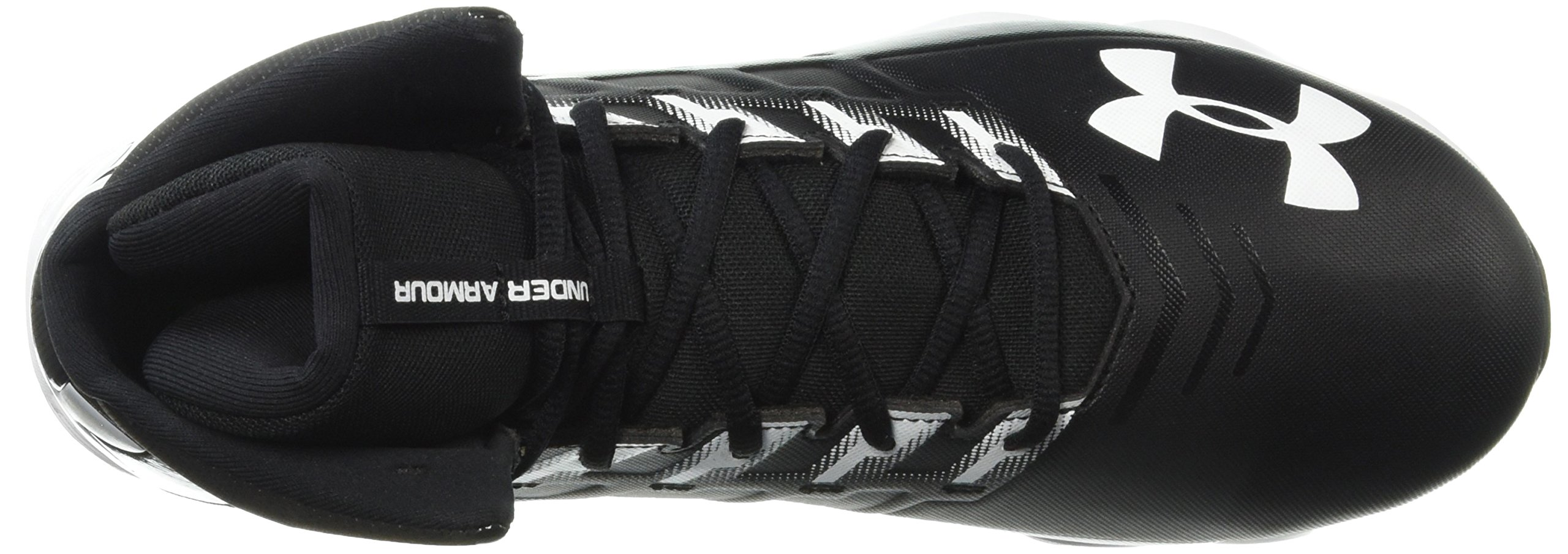 Under Armour Men's Renegade RM Wide Football Shoe 002/Black, 11 W US by Under Armour (Image #7)