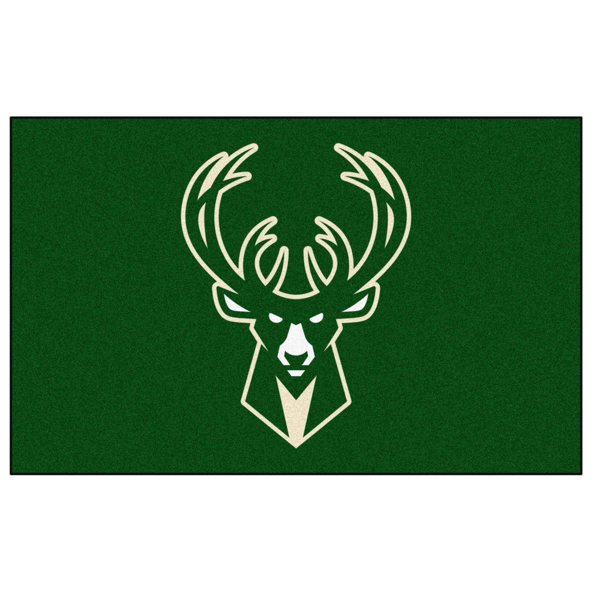 Fan Mats Milwaukee Bucks Ulti-Mat, 60'' x 96''