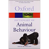 A Dictionary of Animal Behaviour (Oxford Quick Reference)