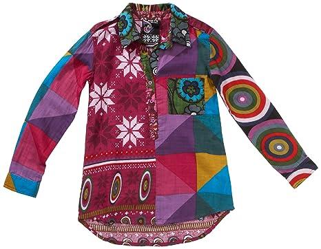 außergewöhnliche Auswahl an Stilen und Farben neuartiges Design offizieller Preis Desigual Desigual Mädchen Bluse 17C4203, Gr. 146/152 (11/12 ...