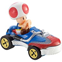 Hot Wheels - Mario Kart, Vehiculos, Toad, Coche