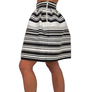 super economico migliori scarpe da ginnastica vendita a basso prezzo Women's Skirt LIU JO I18139 T1980 03L44 White/Black 1/I SPRING ...