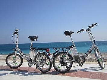 Pedelec Movena afh20, 2 x Certificado TÜV y bicicleta eléctrica Plata/Plata – 36