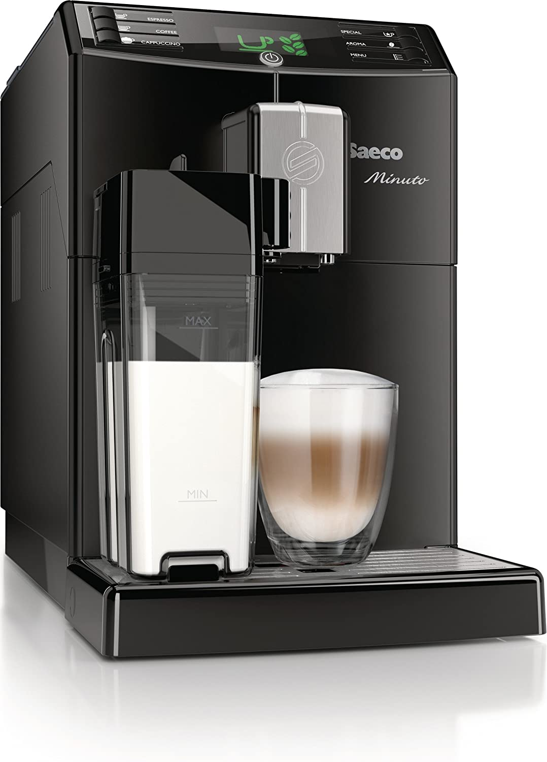 Saeco HD8763/01 Minuto One Touch - Cafetera automática (1,8 L, 15 ...