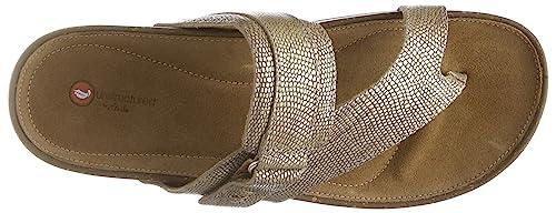 7421e91e967 Clarks Women s Rosilla Durham Gold Metallic Leather Fashion Sandals-3.5  UK India (36