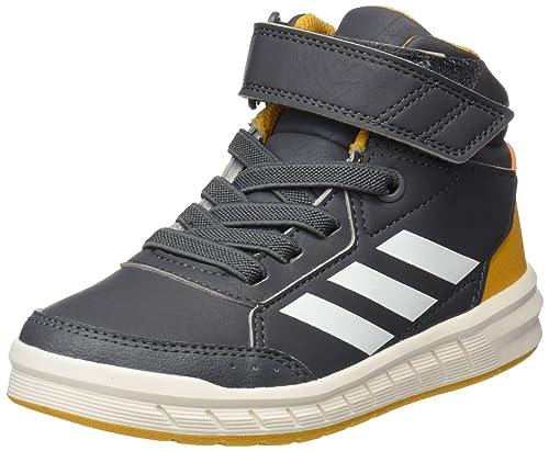 super cute 068c4 5a0fb Adidas AltaSport Mid EL K - CG3340 - Color Graphite - Size 2.0