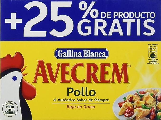 Gallina Blanca - Avecrem Caldo De Pollo 12 Pastillas 120grams