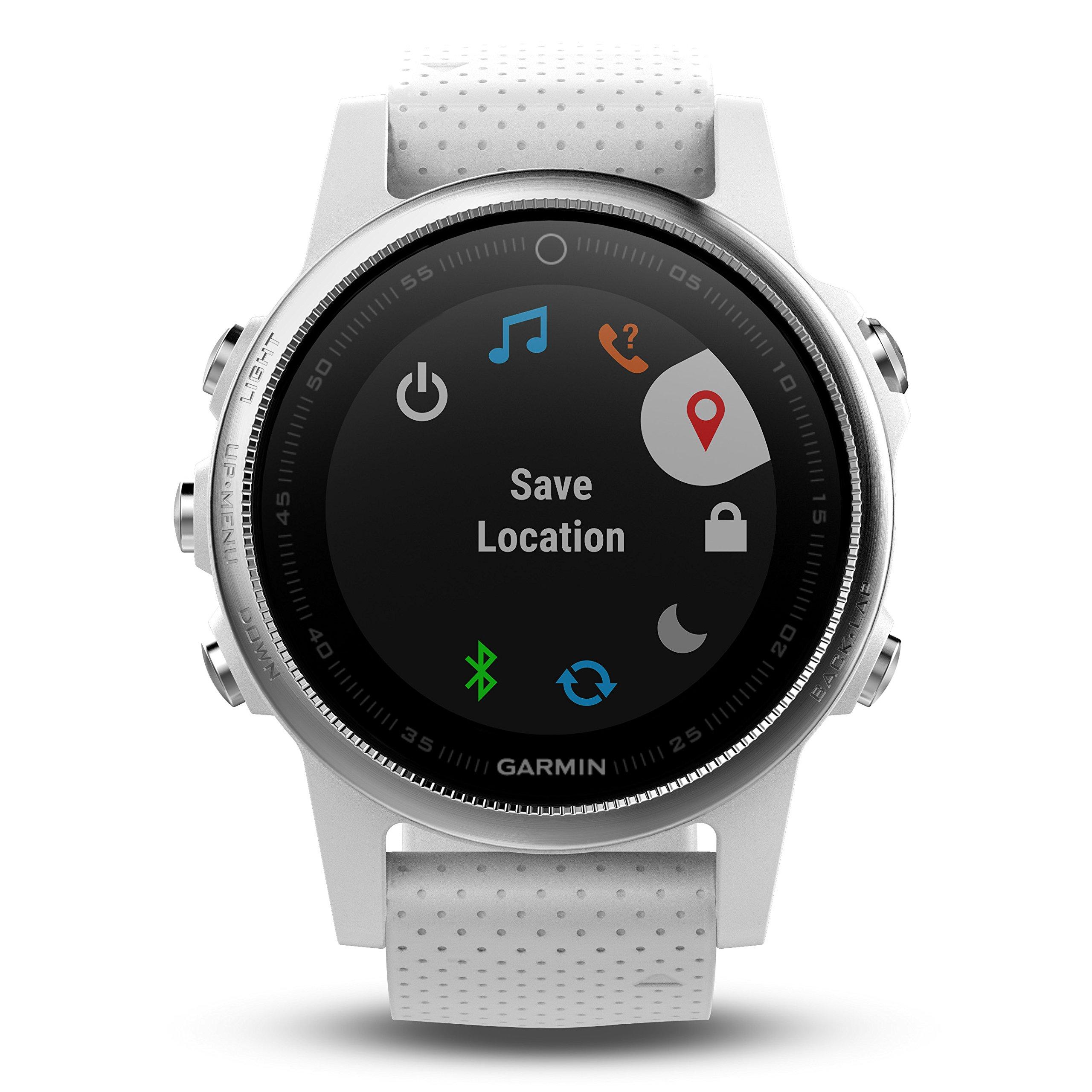 Garmin Fenix 5S Premium GPS Multisport Watch Ultimate Power Bundle   Includes Garmin Fenix 5S Watch (42mm), Wearable4U Power Bank, and Wearable4U Car and Wall USB Charging Adapters   by Wearable4U (Image #2)