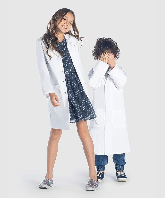 Camice Bianco Bambino 10 12 14 E 16 Anni Ragazza O Garcon Corso