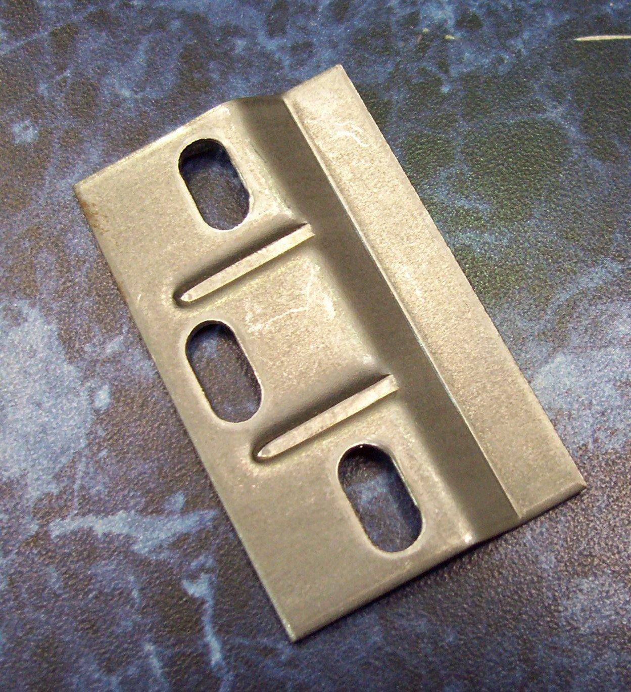 KITCHEN WALL UNIT BRACKET /PLATES (2PAIRS) Handles And Ironmongery