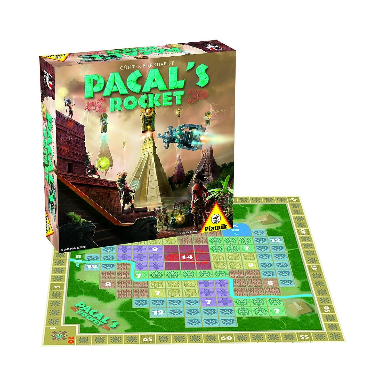 Piatnik 6341 - Pacal's Rocket, Brettspiele