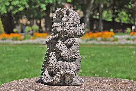 Dragón! Jardín! El pensador! La figura para el jardín! La decoración!: Amazon.es: Jardín