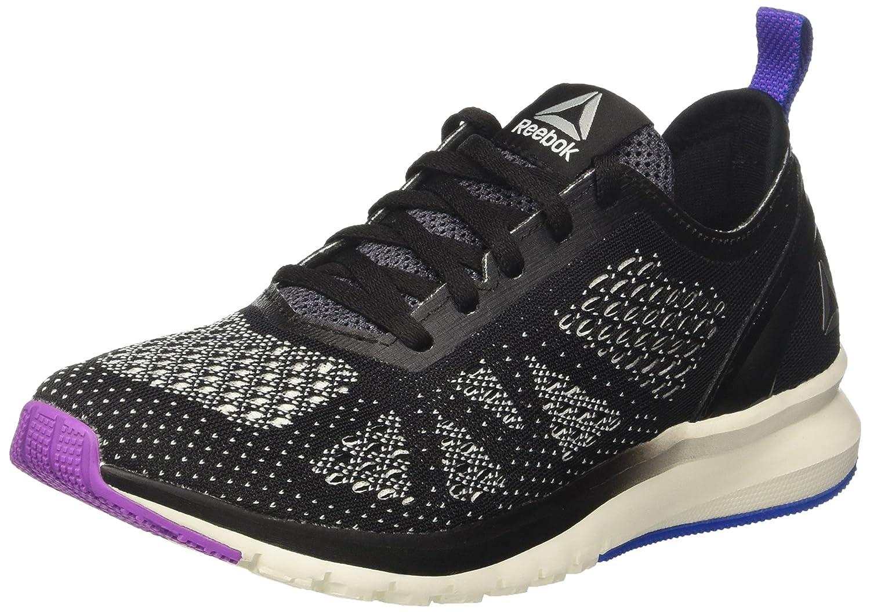 Reebok Print Smooth Clip Clip Clip Ultk, Chaussures de Running Compétition Femme 40.5 EU|Noir (Black/Chalk/Vicious Violet/Vital Blue) 596fae