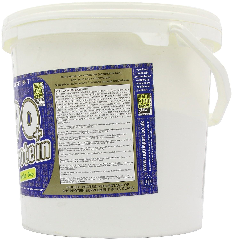 Nutrisport 90+ Protein 5Kg Vanilla