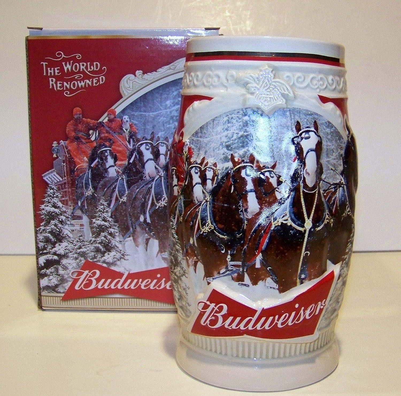 2013 Budweiser Holiday Beer Stein