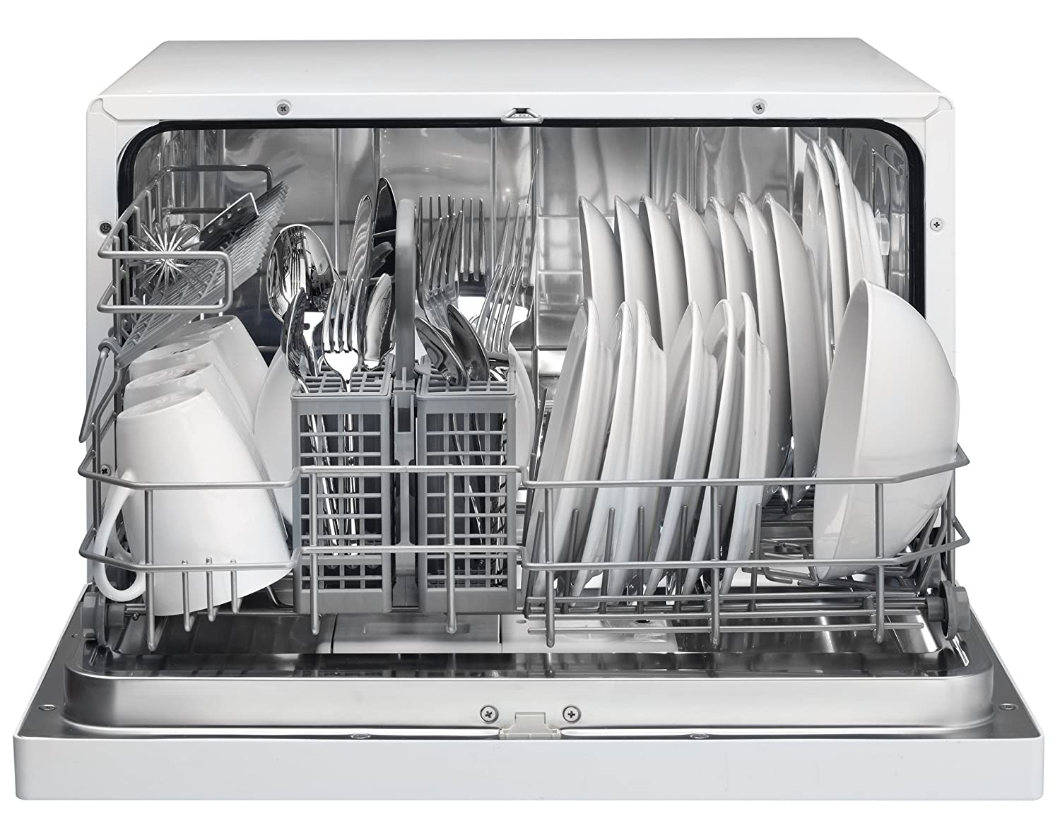 Mini Dishwashers Amazoncom Danby Ddw611wled Countertop Dishwasher White Appliances