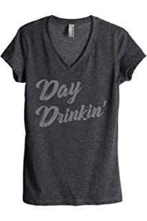 e07de7ecfb667d Amazon.com  Support Day Drinking T-Shirt Funny Drinking Gift Shirt ...