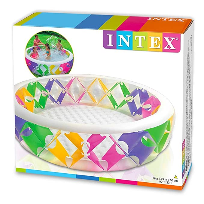 Intex 56494NP - Piscina hinchable de colores 229 x 56 cm, 772 ...