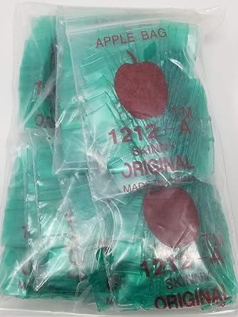 Red Dog 1212 Original Mini Ziplock 2.5mil Plastic Bags 1//2 x 1//2 Reclosable Baggies Bulk The Baggie Store