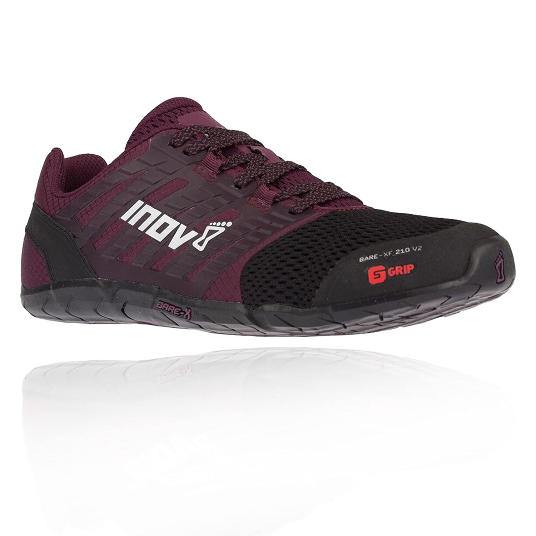Inov-8 Women's Bare-XF 210 V2 Sneaker B079Q5W61R 6.5 W UK|Black/Purple