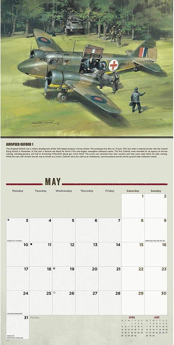 Calendario de Leyendas de la Segunda Guerra Mundial 2021
