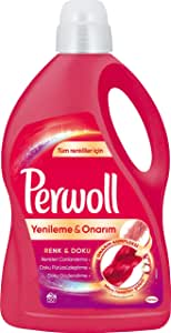 Perwoll Geliştirilmiş, Renkli, 50 Yıkama, 3L