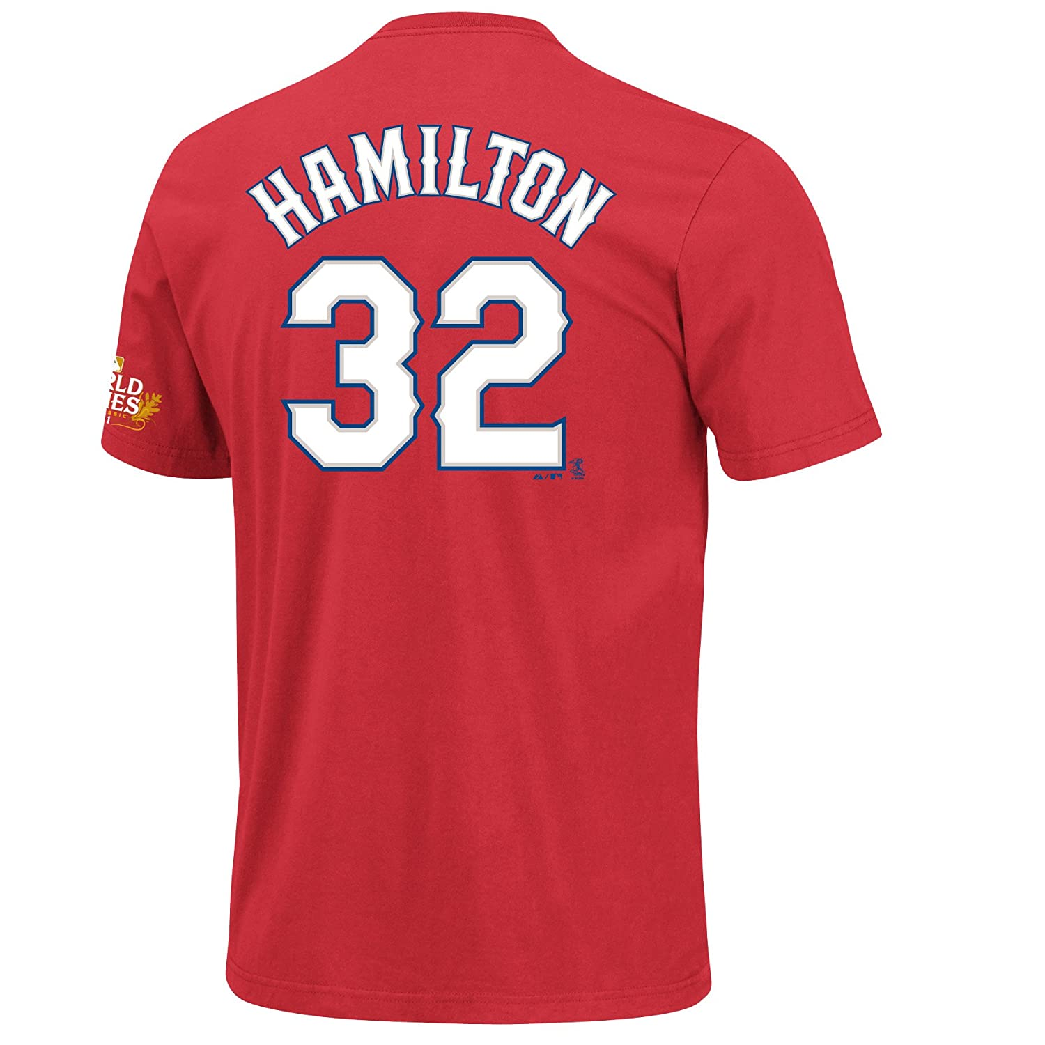 new arrival 935d4 5bf1d Amazon.com : MLB Boys' Texas Rangers Josh Hamilton 2011 ...