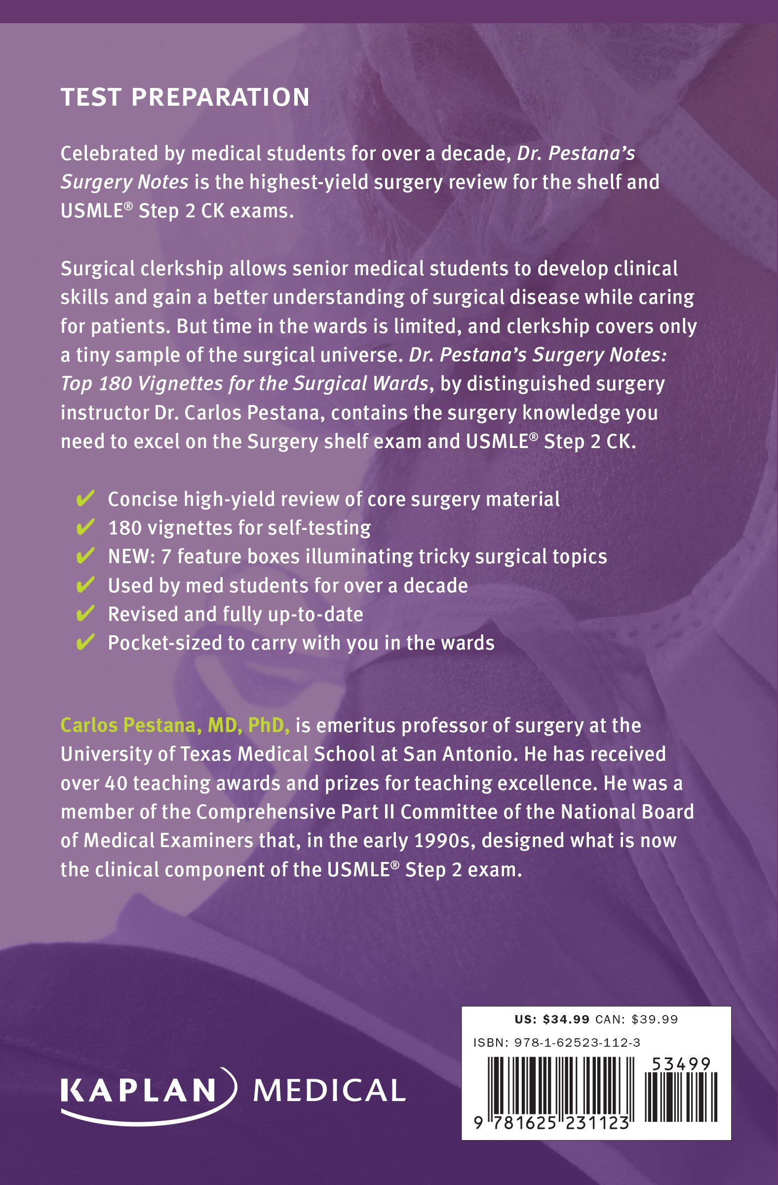 Buy Dr Pestana S Surgery Notes Top 180 Vignettes For The Surgical