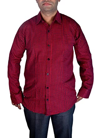 f3a62d99ef Sunshiny purple navy brown grey cotton black and white check red and black check  shirts for men ...