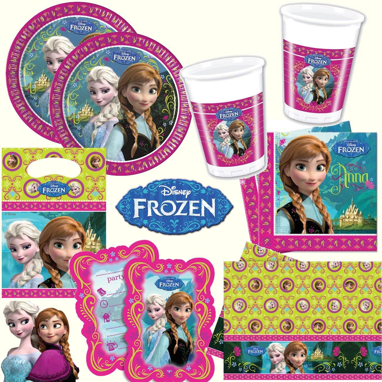 Frozen 6 Platzsets Fur Eine Mottoparty Oder Kindergeburtstag