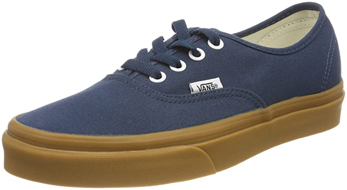 Vans Authentic Sneaker Erwachsene Unisex Blau Gum
