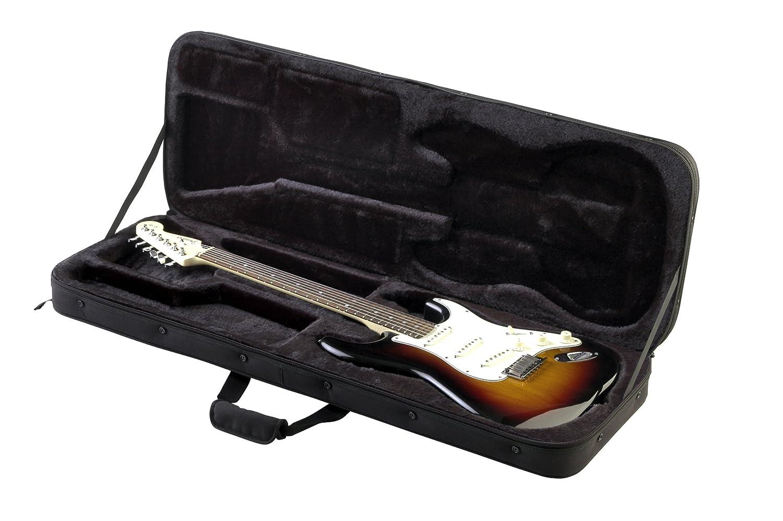 SKB Electric Guitar Soft Case with EPS Foam Interior/Nylon Exterior, Back Straps 1SKB-SC66