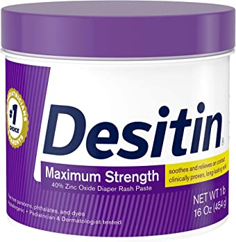 Desitin 16oz Maximum Strength Baby Diaper Rash Cream
