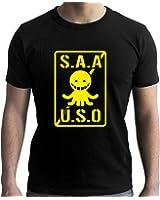 ASSASSINATION CLASSROOM - Tshirt S.A.A.U.S.O homme black
