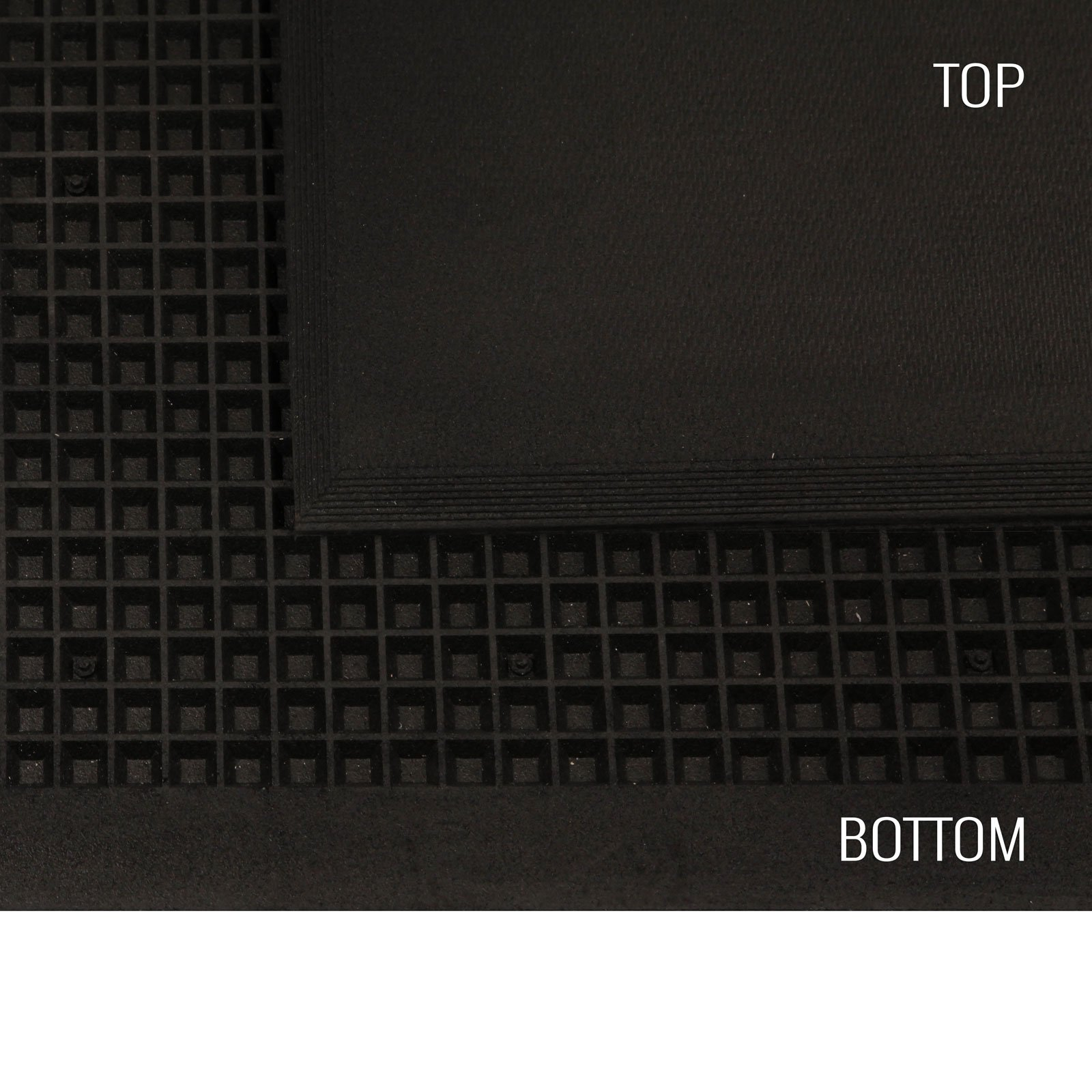 IncStores 3/4in Shock Mats Interlocking Heavy Duty High Impact Weight Room Gym Flooring by IncStores (Image #5)