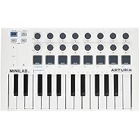 Arturia AR-MINILABMK2 MiniLab Mk II 25 Key MIDI Controller with Software Synthesizer