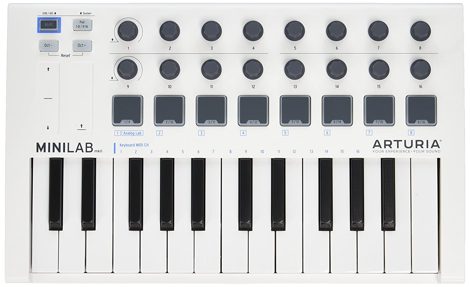 Best MIDI Controller Keyboard Reviews in 2020 You Should Know 6