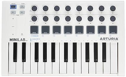 Amazon com: Arturia MiniLab MkII 25 Slim-Key Controller: Musical