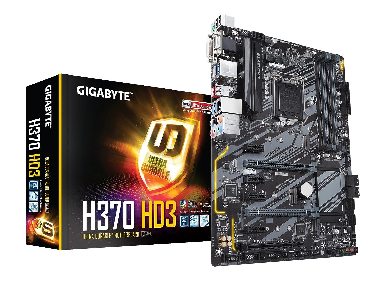 Amazon com: GIGABYTE H370 HD3 (LGA1151/Intel/USB 3 1 Gen 2 (USB3 1