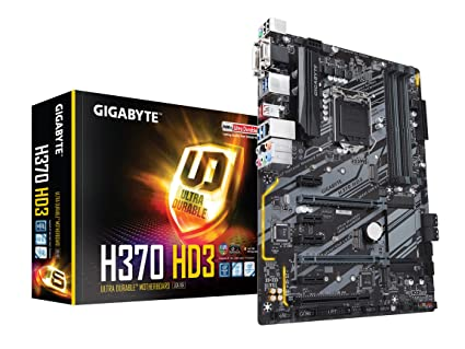 Amazon com: GIGABYTE H370 HD3 (LGA1151/Intel/USB 3 1 Gen 2
