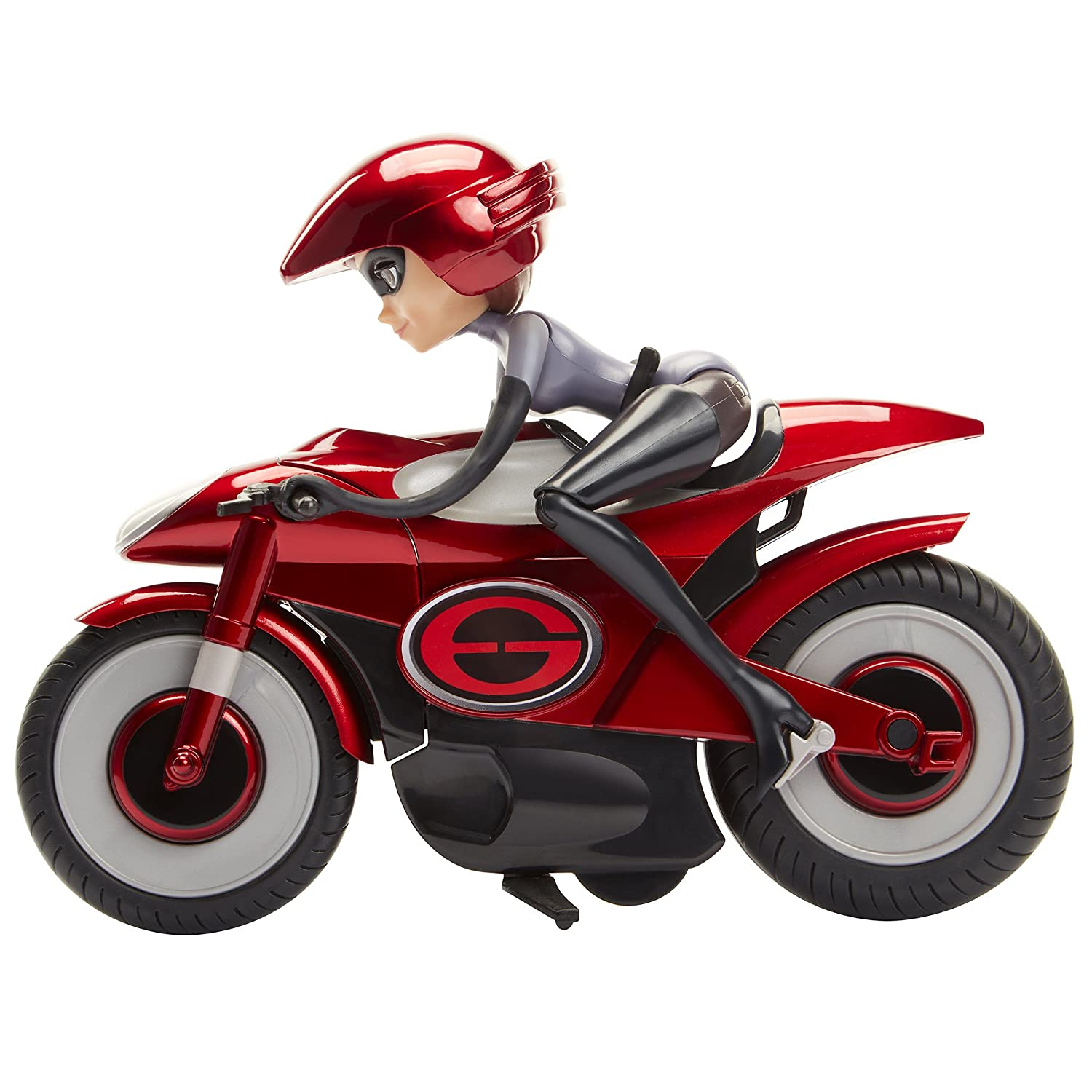 The Incredibles 2 Stretching & Speeding Elasticycle Playset with Removable Elastigirl Figure Jakks Pacific -- Import 76605