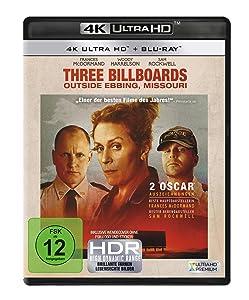 Three Billboards Outside Ebbing, Missouri (4K Ultra HD) (+ Blu-ray) [Alemania] [Blu-ray]
