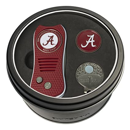 online store aa181 10185 Team Golf NCAA Gift Set Switchblade Divot Tool, Cap Clip,   2 Double-Sided  Enamel Ball Markers, Patented Design, Less Damage to Greens, ...