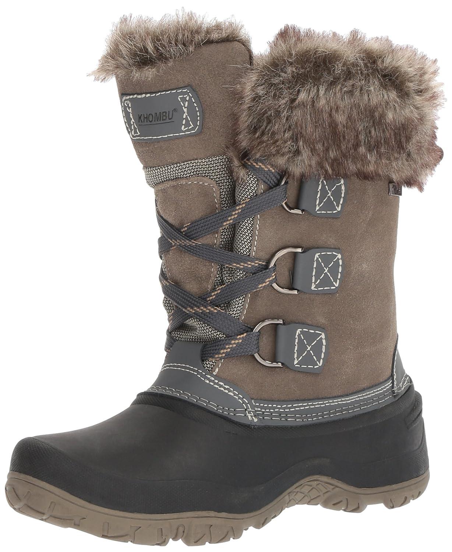 Khombu Women's The Slope Winter Snow Boots B01N7EBATA 11 B(M) US|Grey