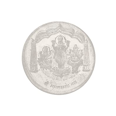 Buy DzineTrendz Silver content 50% Pure Silver coin, for