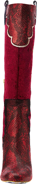 Irregular Choice Petal Royal, Bottes Hautes Femme Red B