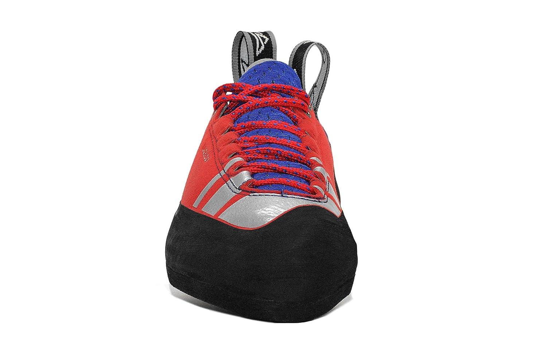 Evolv Luchador Lace Climbing Shoe Mens Red//Silver 4