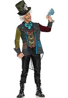94e58dfa93a Amazon.com  Leg Avenue Men s 5 Piece Classic Mad Hatter Costume ...