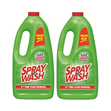 Spray n Wash - Quitamanchas, botella de 1,75 litros, paquete de